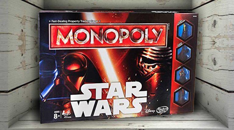 Monopoly Star Wars: la versione ispirata a Guerre Stellari di Monopoli