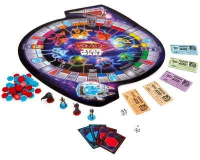 monopoly star wars gioco tavolo