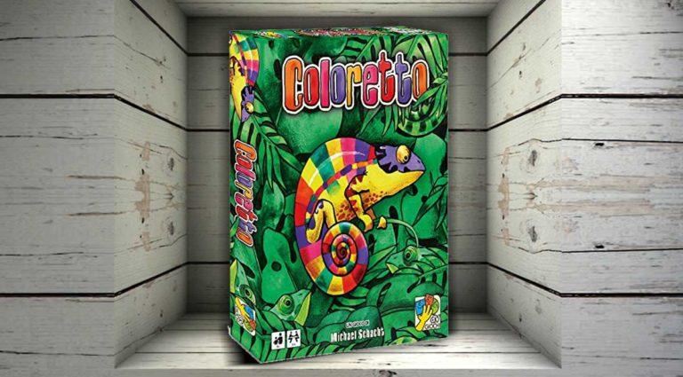 Coloretto: un colorato gioco di carte da tavolo