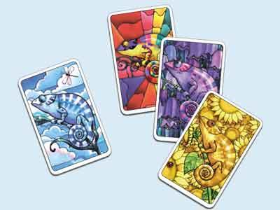gioco carte coloretto