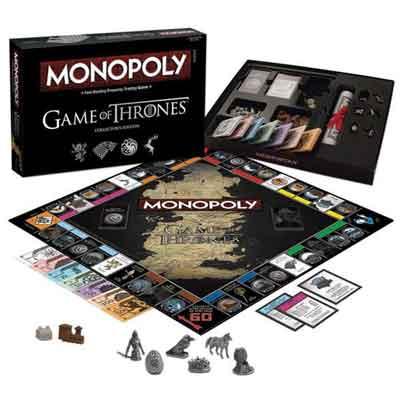 gioco tavolo monopoly game thrones