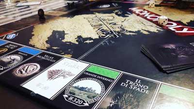 monopoly game thrones gioco scatola