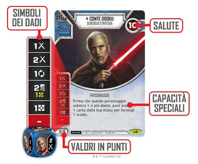 star wars destiny gioco tavolo carte