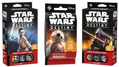 star wars destiny gioco tavolo