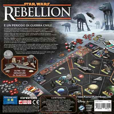 star wars rebellion gioco in scatola