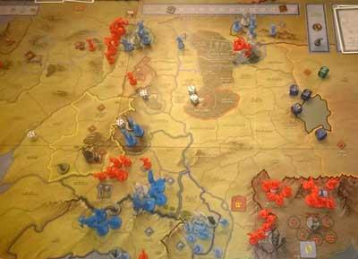 battaglia 5 eserciti gioco scatola
