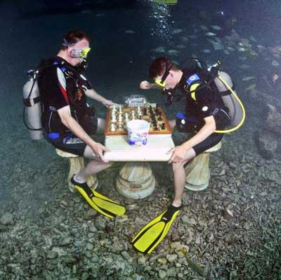 scacchi subacqueo