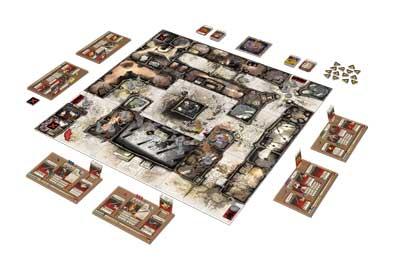 zombicide black plague gioco scatola