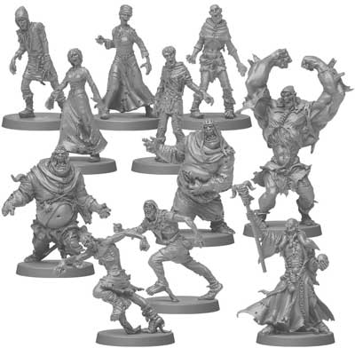 zombicide black plague miniature