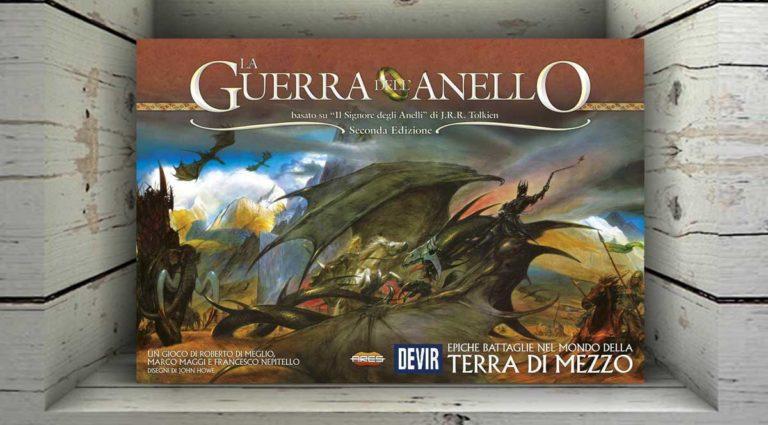 La Guerra dell'Anello (seconda edizione), il wargame de il Signore degli Anelli