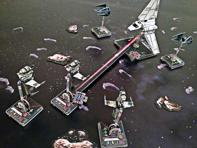 star wars x-wing gioco miniature