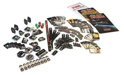 star wars x-wing gioco scatola