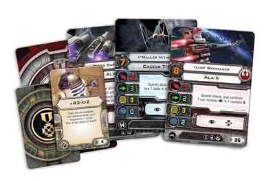 star wars x-wing gioco società