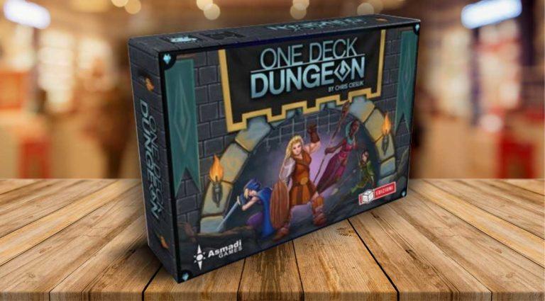 One Deck Dungeon, il gioco fantasy di carte e dadi