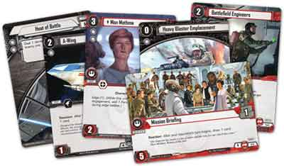 star wars lcg gioco scatola