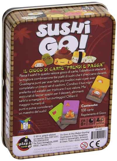 sushi go gioco scatola