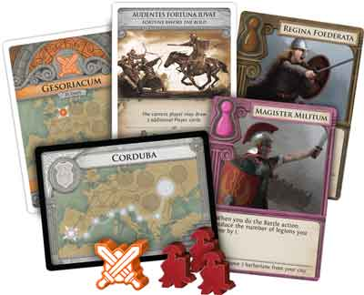 carte pandemic caduta roma