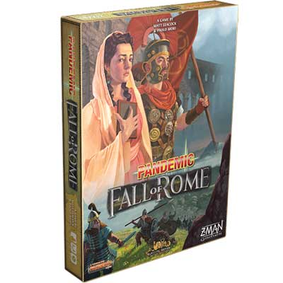 pandemic caduta di roma