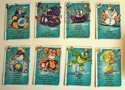 puupazzi carte blu