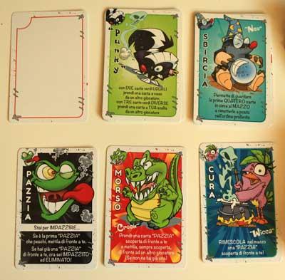 puupazzi carte