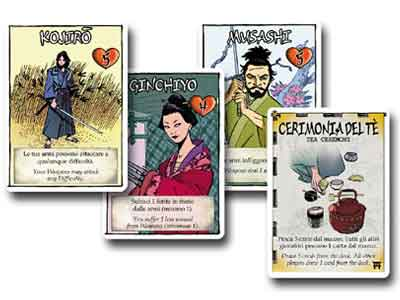 samurai sword gioco carte