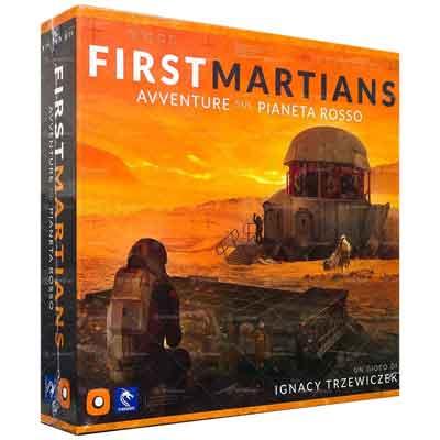 First Martians: avventure sul pianeta rosso