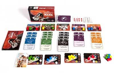 pocket mars gioco scatola