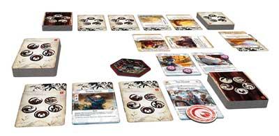 la leggenda dei cinque anelli gioco carte