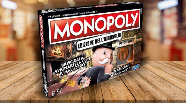 Monopoly edizione dell'imbroglio, in cui è corretto barare