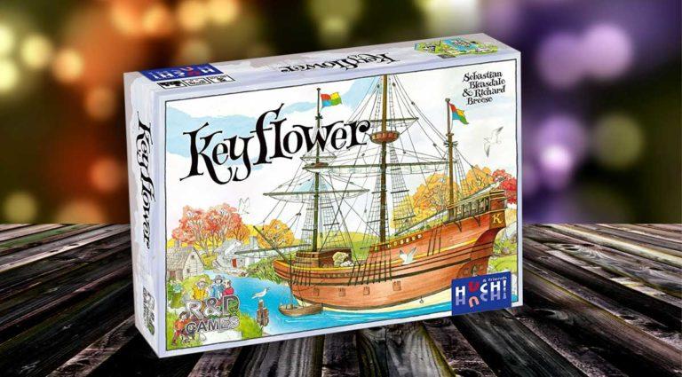 Keyflower dove le meccaniche di gioco si miscelano sapientemente