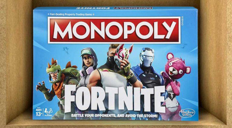 Monopoly Fortnite, dai videogiochi al gioco da tavolo