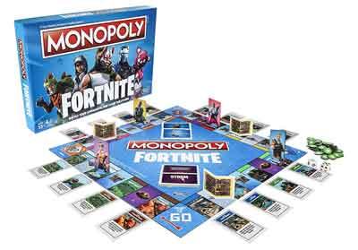 monopoly fortnite gioco scatola