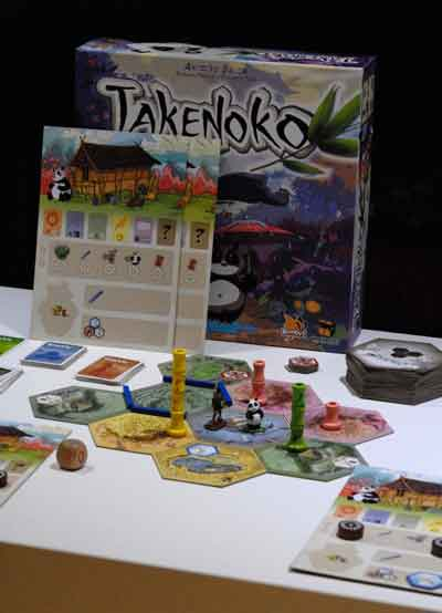 Takenoko gioco scatola