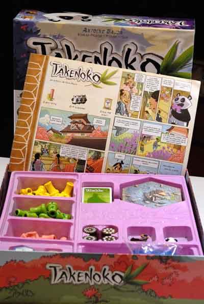 Takenoko gioco tavolo