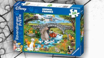animal friends puzzle disney