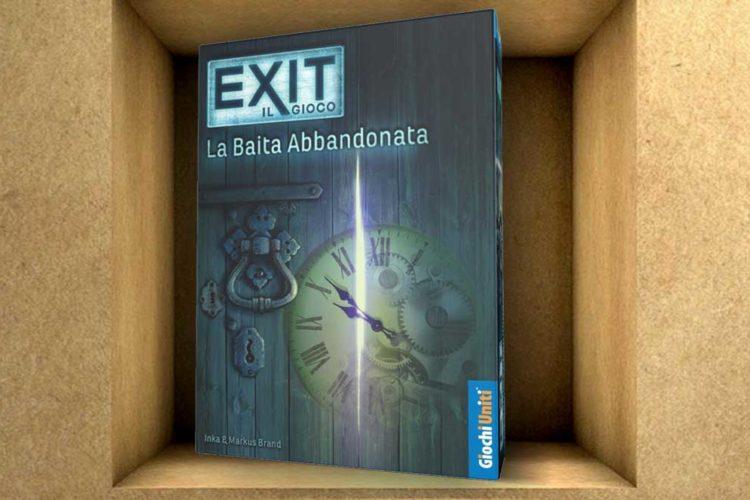 exit baita abbandonata