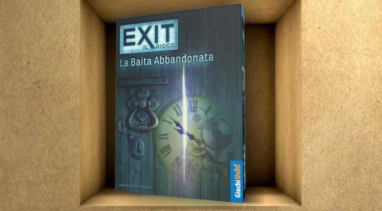 Exit, la baita abbandonata. Una escape room da tavolo e gioco collaborativo
