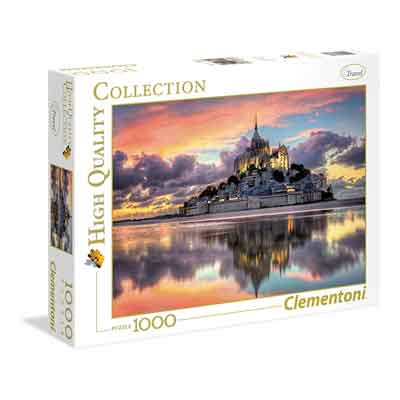 mount saint michel puzzle 1000