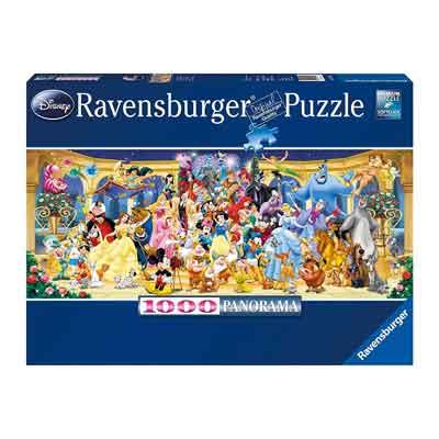 panorama disney puzzle 1000