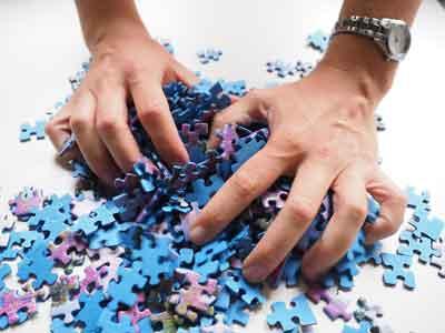 puzzle colori