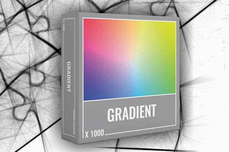 puzzle gradiente