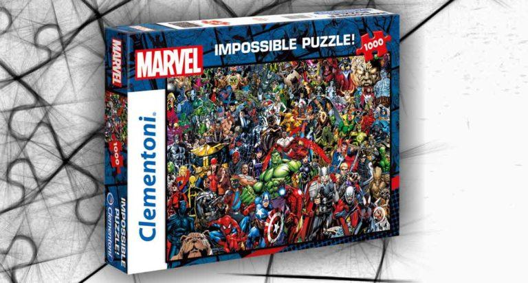 Marvel Impossible Puzzle, un puzzle da 1000 pezzi molto complicato