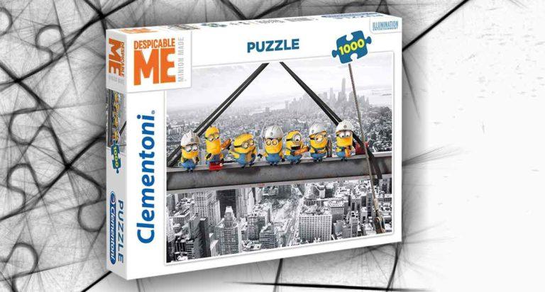 Minions al lavoro. Un puzzle da 1000 pezzi