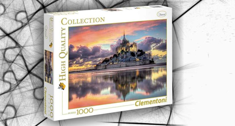 Le Magnifique Mont Saint-Michel: un puzzle da 1000 pezzi di alta qualità