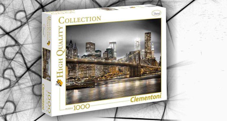 New York Skyline, un puzzle da 1000 pezzi di alta qualità