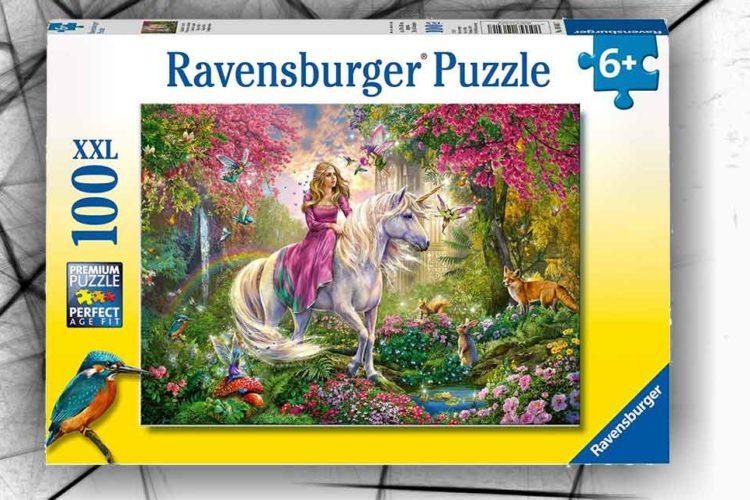 puzzle unicorno