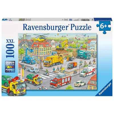 veicoli città puzzle