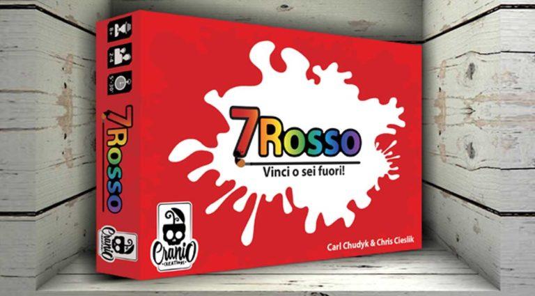 7 Rosso: un cromatico gioco di carte dove cambiare le regole