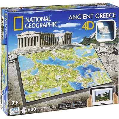 antica grecia puzzle 4d