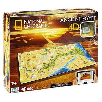 Antico Egitto puzzle 4D